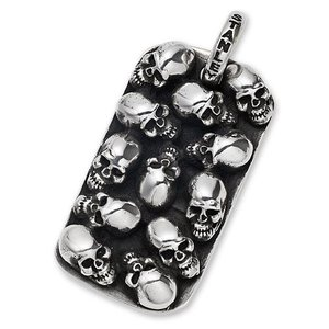 STANLEY GUESS(スタンリーゲス):Multi Skull Dog Tag/Small(マルチスカルドッグタグ/スモール)|chrono925