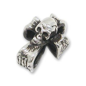 STANLEY GUESS(スタンリーゲス):Tiny Skull Cross Pendant(タイニースカルクロスペンダント)|chrono925