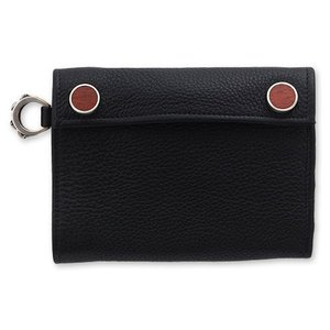 STANLEY GUESS(スタンリーゲス):2 Button Wallet w/Skull D Ring(2ボタンウォレットw/スカルDリング)|chrono925