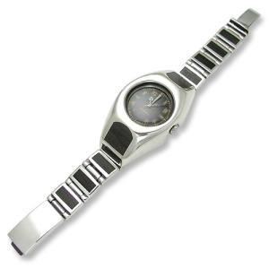 Wood/Silver Watch Case Short&Narrow Links w/Plain Box Clip(ウッド/シルバーウォッチケースショート&ナローリンクw/プレーンボックスクリップ)|chrono925