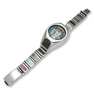 Shell/Silver Watch Case w/Short&Narrow Links Plain Box Clip(シェル/シルバーウォッチケースw/ショート&ナローリンクプレーンボックスクリップ)|chrono925