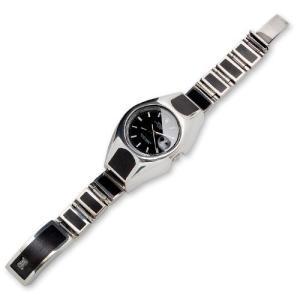 Wood/Silver Watch Case Short&Narrow Links w/Wood Inlaid Box Clip w/Logo(ウッド/シルバーウォッチケースショート&ナローw/ウッドクリップw/ロゴ)|chrono925