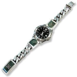 Classic Links Wood Inlaid Connector Watch Band w/Wood Inlaid Box Clip(クラシックリンクウッドコネクターウォッチバンドw/ウッドボックスクリップ) chrono925