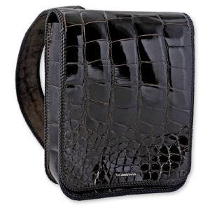【VAN AMBURG LEATHERS ヴァンアンバーグレザーズ BAG バッグ 鞄】1ショルダーバッグ/グレイズドアリゲーター【送料無料】|chrono925