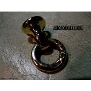 【MOOBIUS モービウス Wallet Ring ウォレットリング】ウォレットリング/ブラス|chrono925