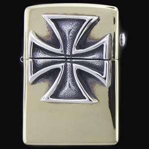 TRAVIS WALKER/DOUBLE CROSS(トラヴィスワーカー/ダブルクロス):Brass Zippo w/Red Baron(ブラスジッポw/レッドバロン)|chrono925