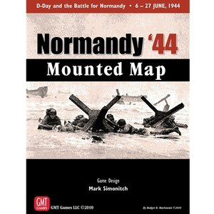 Normandy '44 Mounted Map|chronogame