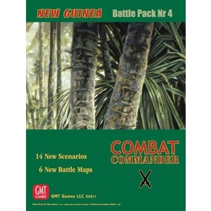 Combat Commander BP #4: New Guinea, 2nd Printing|chronogame