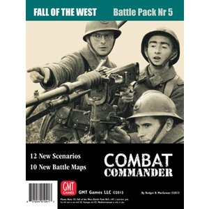 Combat Commander BP #5: Fall of the West, 2nd Printing chronogame