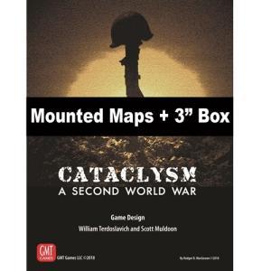Cataclysm Mounted Maps + 3インチボックス|chronogame