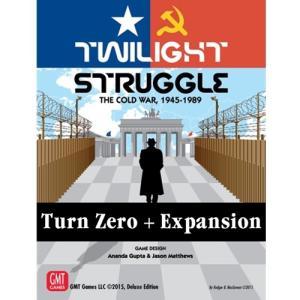 Twilight Struggle Turn Zero and Promo Packs, 2nd Printing|chronogame