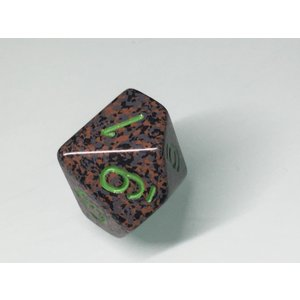 d10 Earth Speckle Dice|chronogame