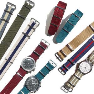 腕時計 ベルト 時計 バンド NATOタイプ NATO type ナイロンストラップ 18mm20mm22mm(メ)|chronoworldjapan|13
