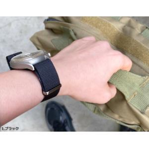 腕時計 ベルト 時計 バンド NATOタイプ NATO type ナイロンストラップ 18mm20mm22mm(メ)|chronoworldjapan|07