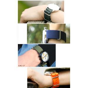 腕時計 ベルト 時計 バンド NATOタイプ NATO type ナイロンストラップ 18mm20mm22mm(メ)|chronoworldjapan|08
