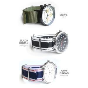 時計 ベルト ショートバージョン NATOタイプ NATO type ナイロンストラップ 18mm20mm22mm(メ)|chronoworldjapan|05
