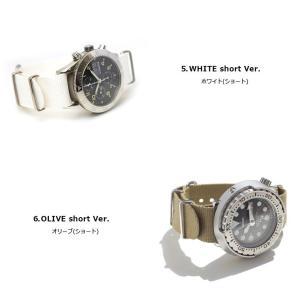 腕時計 ベルト 時計 バンド ディスコンカラー NATOタイプ NATO type ナイロンストラップ 18mm20mm22mm(メ)|chronoworldjapan|05