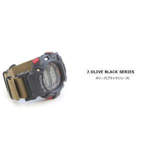 腕時計 ベルト 時計 バンド ディスコンカラー NATOタイプ NATO type ナイロンストラップ 18mm20mm22mm(メ)|chronoworldjapan|06
