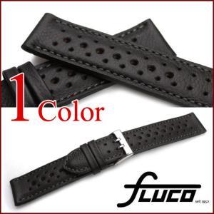 時計 ベルト バンド フルーコ・FLUCO Racing レーシング レザー 革 18mm20mm 腕時計(メ)|chronoworldjapan