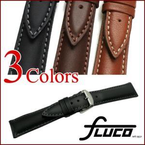 腕時計 ベルト 時計 バンド フルーコ・FLUCO Modena モデナ レザー・革 18mm20mm22mm 腕時計(メ)|chronoworldjapan