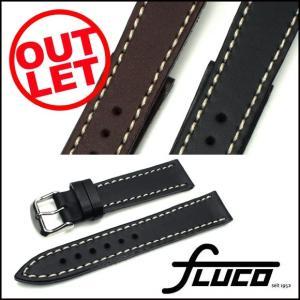 【アウトレット】腕時計 ベルト FLUCO Touareg ツーリング レザー 18mm20mm22mm(メ)|chronoworldjapan