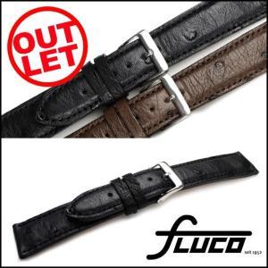 【アウトレット】腕時計 ベルト フルーコ・FLUCO Echt Strauss シュトラウス レザー 革 18mm20mm 腕時計(メ)|chronoworldjapan