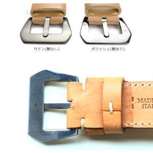 時計ベルト バンド パネライ PANERAI専用 MF WW2/ホワイト [WW2] 26mm24mm22mm レザー 革 腕時計(宅)|chronoworldjapan|05