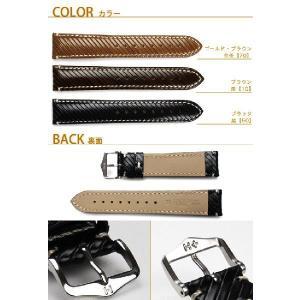 時計ベルト バンド HIRSCH Rivetta ストラクチャード・レザー 革 18mm20mm22mm 腕時計(宅)|chronoworldjapan|02