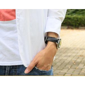 時計ベルト バンド HIRSCH Rivetta ストラクチャード・レザー 革 18mm20mm22mm 腕時計(宅)|chronoworldjapan|06