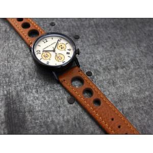 時計ベルト バンド HIRSCH Rally ラリー レザー 革 18mm20mm22mm24mm 腕時計(宅)|chronoworldjapan|06