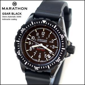 時計 腕時計 アメリカ軍 MARATHON GSAR Anthracite Automatic Divers 300M マラソン ジーサー アンスラサイト 自動巻き WW194006BK|chronoworldjapan