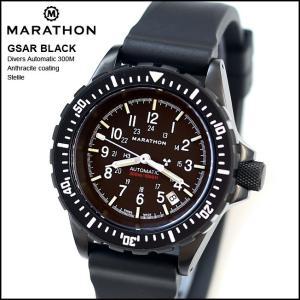 時計 腕時計 アメリカ軍 MARATHON GSAR Anthracite Sterile Automatic Divers 300M マラソン ジーサー アンスラサイト ステライル 自動巻き  WW194006BK-NGM|chronoworldjapan