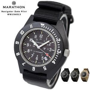 MARATHON Navigator Date Pilot マラソン ナビゲーター デイト パイロット クォーツ WW194001|chronoworldjapan