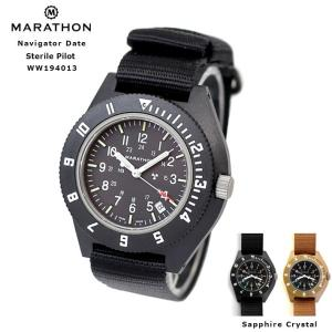 MARATHON Navigator Date Sterile Pilot マラソン ナビゲーター デイト ステライル パイロット クォーツ WW194013NGM|chronoworldjapan