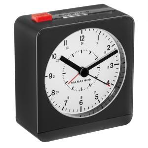 MARATHON アナログ アラームクロック 目覚まし時計 自動夜光 CL030053 マラソン|chronoworldjapan