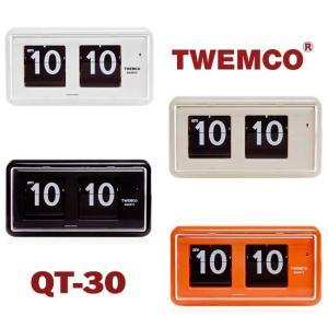 置き時計 掛け時計 インテリア おしゃれ TWEMCO トゥエンコ QT-30 インテリアクロック 置時計(宅)|chronoworldjapan