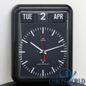 置き時計 掛け時計 インテリア おしゃれ TWEMCO トゥエンコ RC-12Bブラック インテリアクロック 納期1〜2ヶ月(宅)|chronoworldjapan