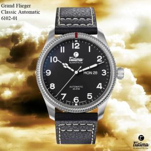 腕時計 メンズ TUTIMA GLASHUTTE チュチマ・グラスヒュッテ Grand Flieger Classic Automatic 6102-01 (宅)|chronoworldjapan