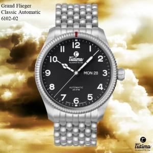 腕時計 メンズ TUTIMA GLASHUTTE チュチマ・グラスヒュッテ Grand Flieger Classic Automatic 6102-02 (宅)|chronoworldjapan