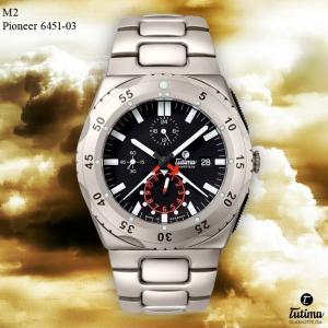 腕時計 メンズ TUTIMA GLASHUTTE チュチマ・グラスヒュッテ M2 Pioneer 6451-03 (宅)|chronoworldjapan