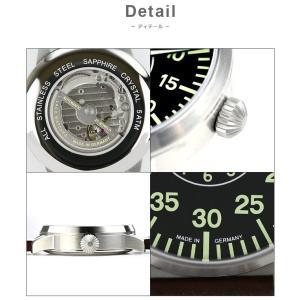 腕時計 メンズ ブランド LACO ラコ 861690 PILOT パイロット AACHEN アーヘン 自動巻き  cwオリジナルストラップ付 ミリタリーウォッチ(宅 chronoworldjapan 03