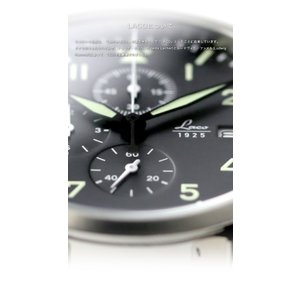 腕時計 メンズ ブランド LACO ラコ 861915 CHRONOGRAPHS クロノグラフ Trier トリーア クォーツ  cwオリジナルストラップ付 ミリタリーウォッチ(宅|chronoworldjapan|02