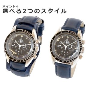 腕時計 ベルト 時計 バンド HDT BUND 耐水レザー 18mm20mm22mm24mm(メ)|chronoworldjapan|06