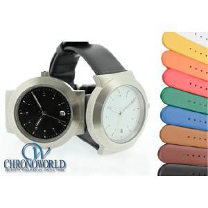 腕時計 メンズ HDT DESIGN モデル001 時計 ベルト バンド 革 レザー(宅)|chronoworldjapan