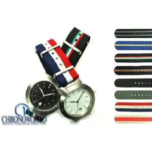 腕時計 メンズ HDT DESIGN モデル001 x NATOタイプ・ストラップ 時計ベルト バンド(宅)|chronoworldjapan