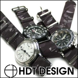 時計 ベルト バンド HDT ニューメラル・カモフラージュ NATOタイプ 20mm22mm 腕時計(メ)|chronoworldjapan