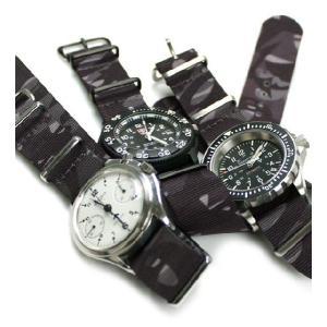 時計 ベルト バンド HDT ニューメラル・カモフラージュ NATOタイプ 20mm22mm 腕時計(メ)|chronoworldjapan|02