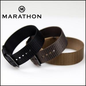 時計ベルト バンド MARATHON US MILスペック ストラップ 16mm20mm22mmエクストラロング(メ)