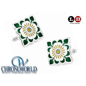 カフスボタン ブランド L2 by LOMA English Ivy Cufflinks イングリッシュアイビーカフス(宅)|chronoworldjapan