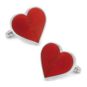 カフスボタン Red Heart Cufflinks ハート レッド  CC-HEART-RD|chronoworldjapan